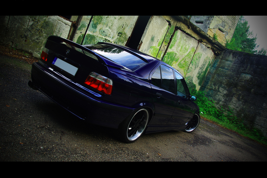 My Bmw 325i E36 Custom Facelift